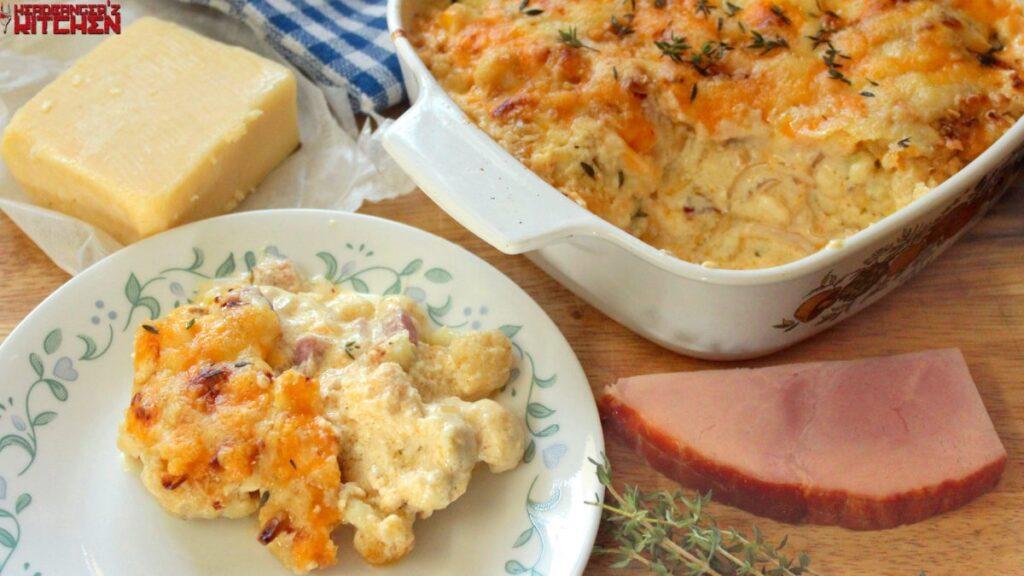 Cauliflower Mac & Cheese, Low Carb Mac and Cheese