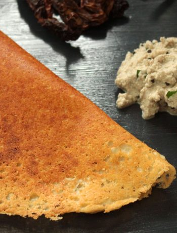 Keto Dosa and coconut chutney