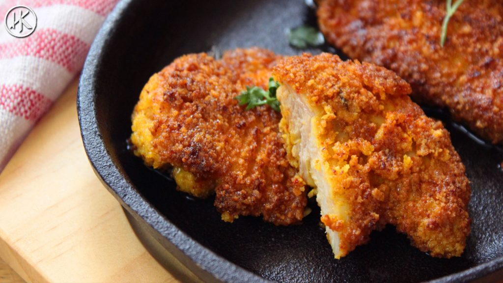 Keto Breadcrumbs Keto Fried Chicken Headbanger S Kitchen