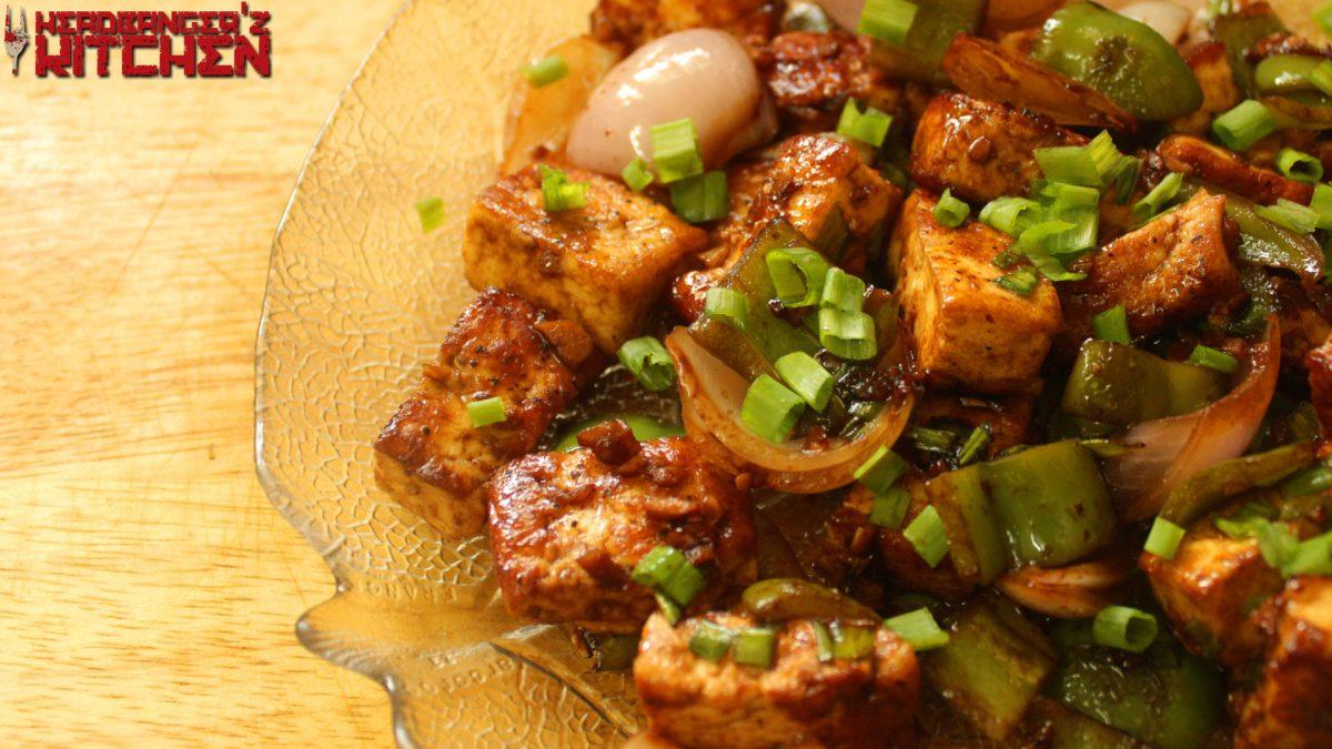Keto chilli paneer indian chinese recipe headbangers kitchen forumfinder Choice Image