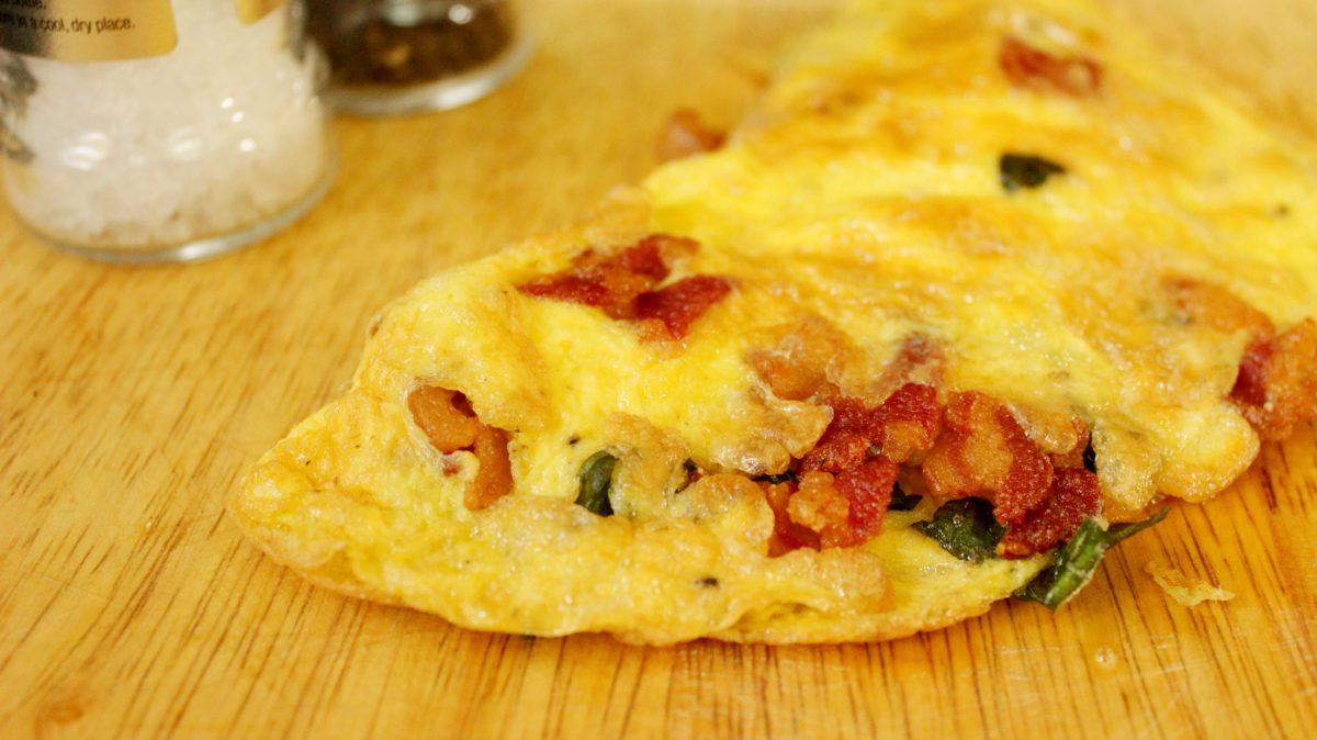 Bacon Cheese Omelet Headbanger S Kitchen Keto All The Way