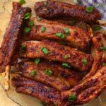 Keto BBQ Pork Spare Ribs