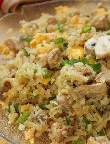 Keto Chicken Fried Rice