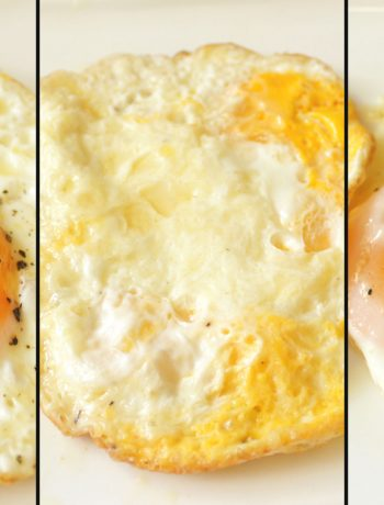 Cheese Fried Eggs