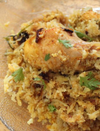 Keto Chicken Biryani