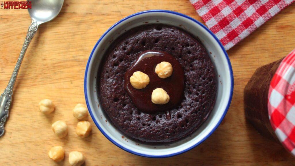 Keto Recipe For Cake In A Mug: Keto Nutella Mug Cake
