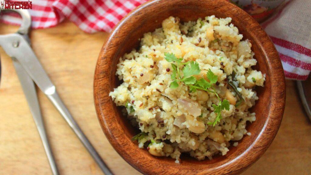 Keto Upma (Indian Breakfast Dish)