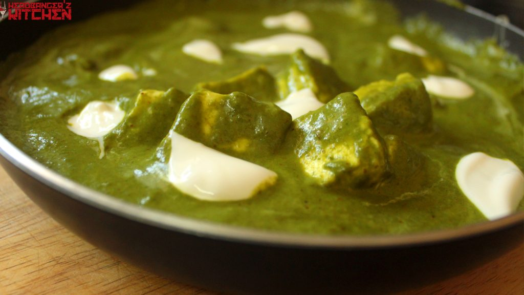 Keto Palak Paneer Headbanger S Kitchen Keto All The Way