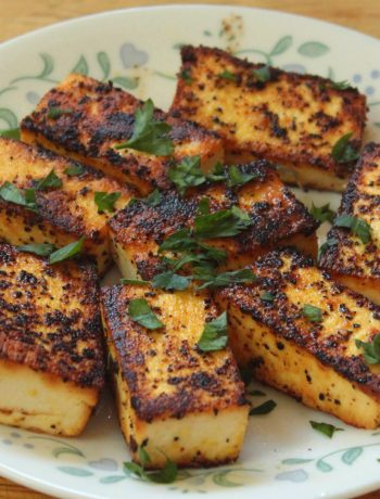 Keto Lemon Pepper Paneer
