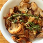 Keto Sauteed Mushrooms