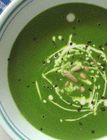 Keto Spinach Soup