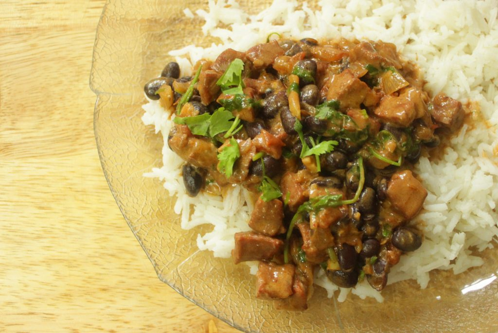 chorizo and black bean stew