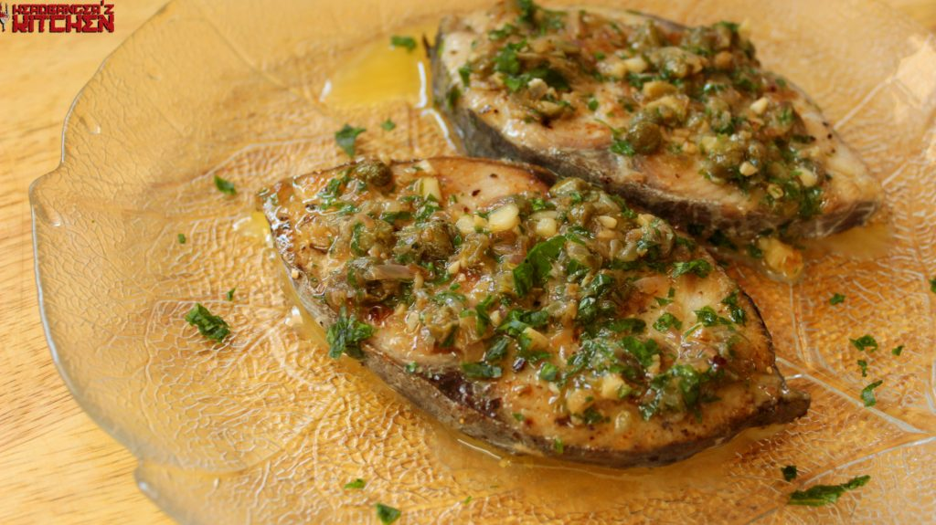 Fish in lemon butter caper sauce headbanger 39 s kitchen for Lemon butter caper sauce for fish