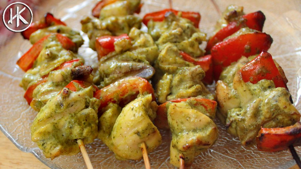 Keto Chicken Skewers