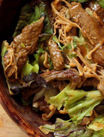 Keto Beef Salad