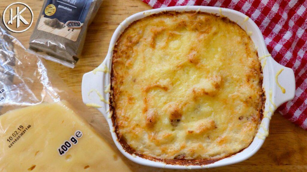 Bacon & Cheese Keto Cauliflower Mash