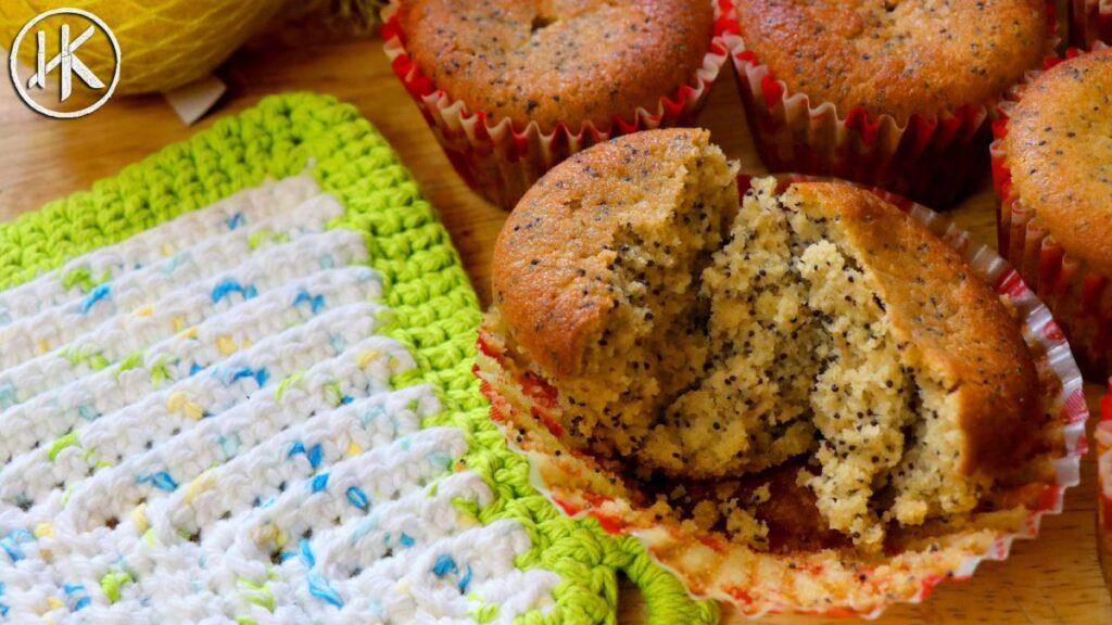 Keto Muffins - Lemon & Poppy Seed