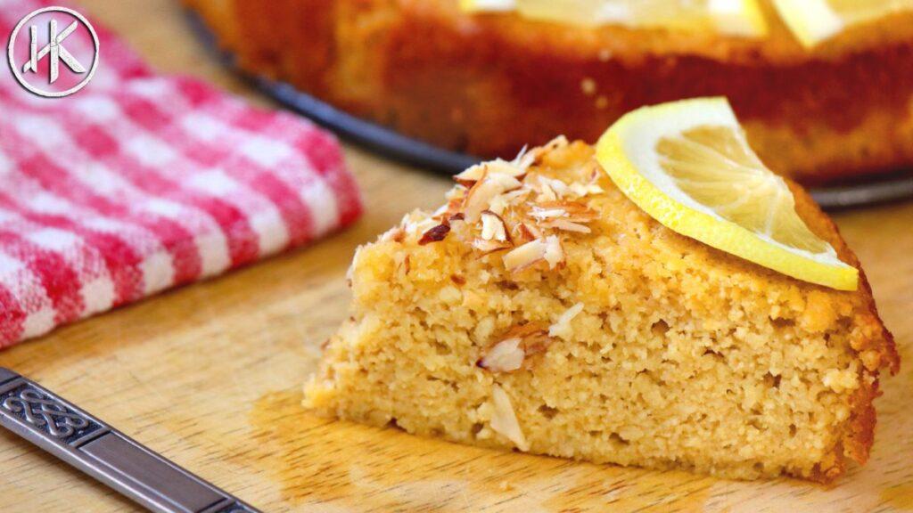 Keto Lemon Ricotta Cake