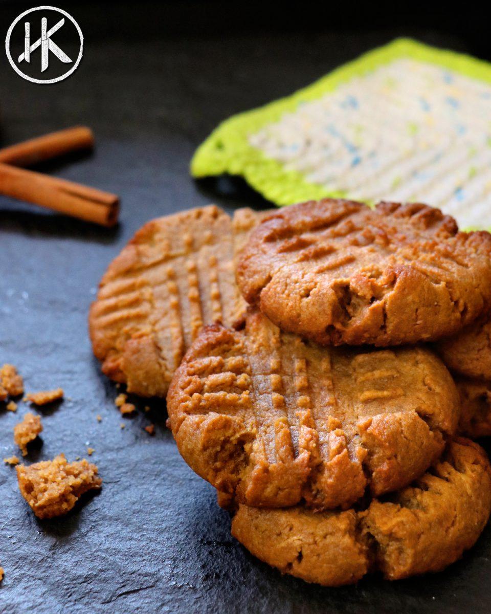 Keto Peanut Butter Cookies - Headbanger's Kitchen - Keto All The Way!