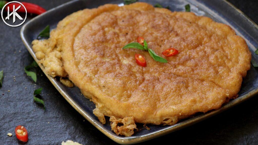 keto thai omelette