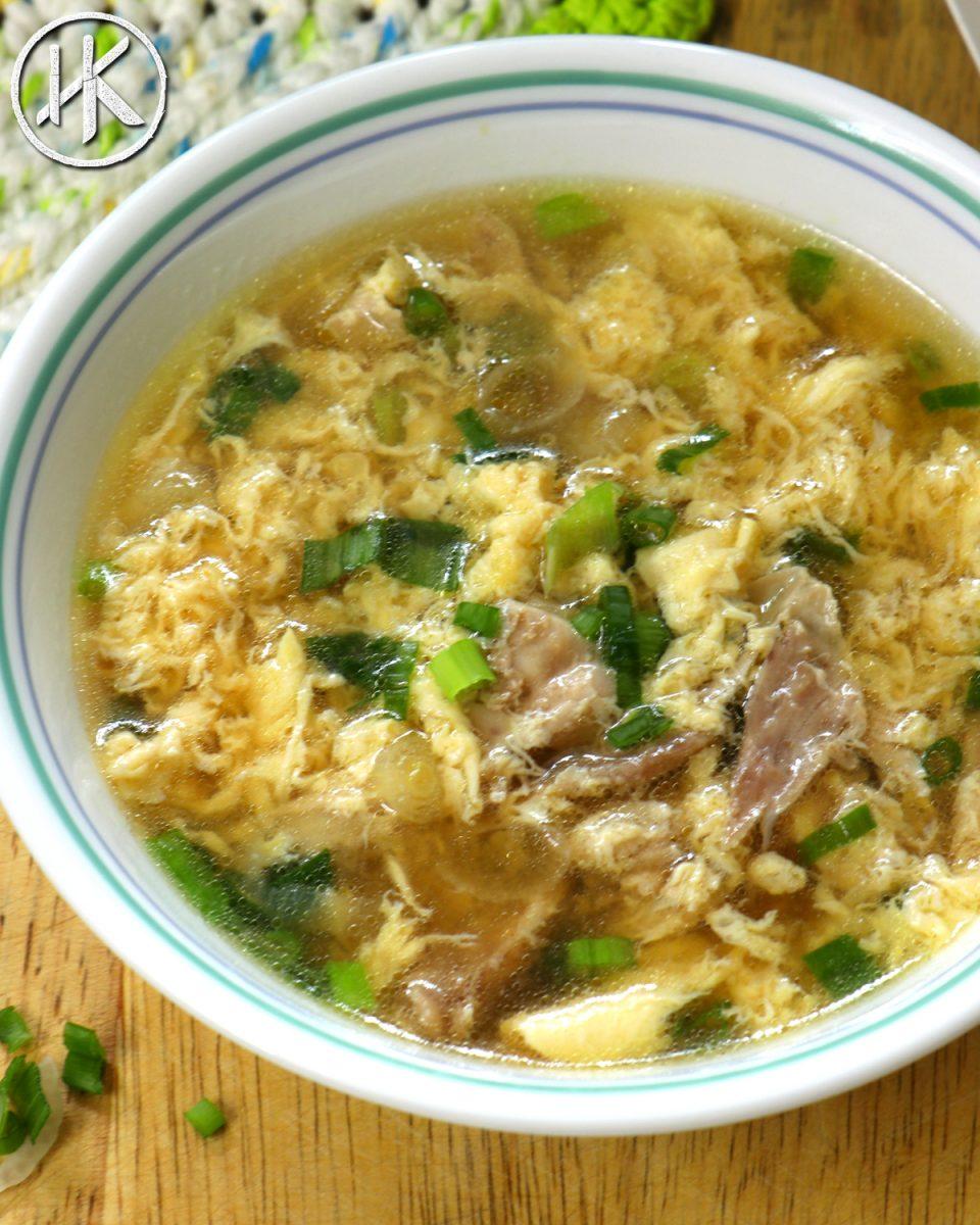 keto diet egg drop soup