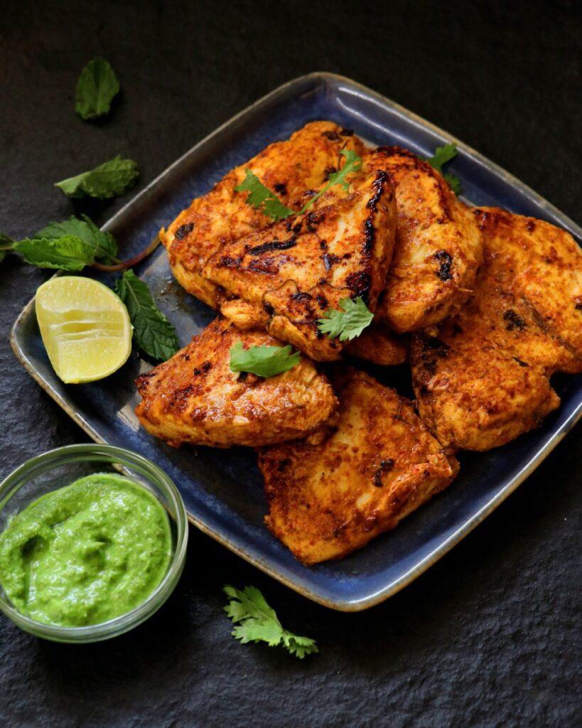 easy low fat tandoori chicken