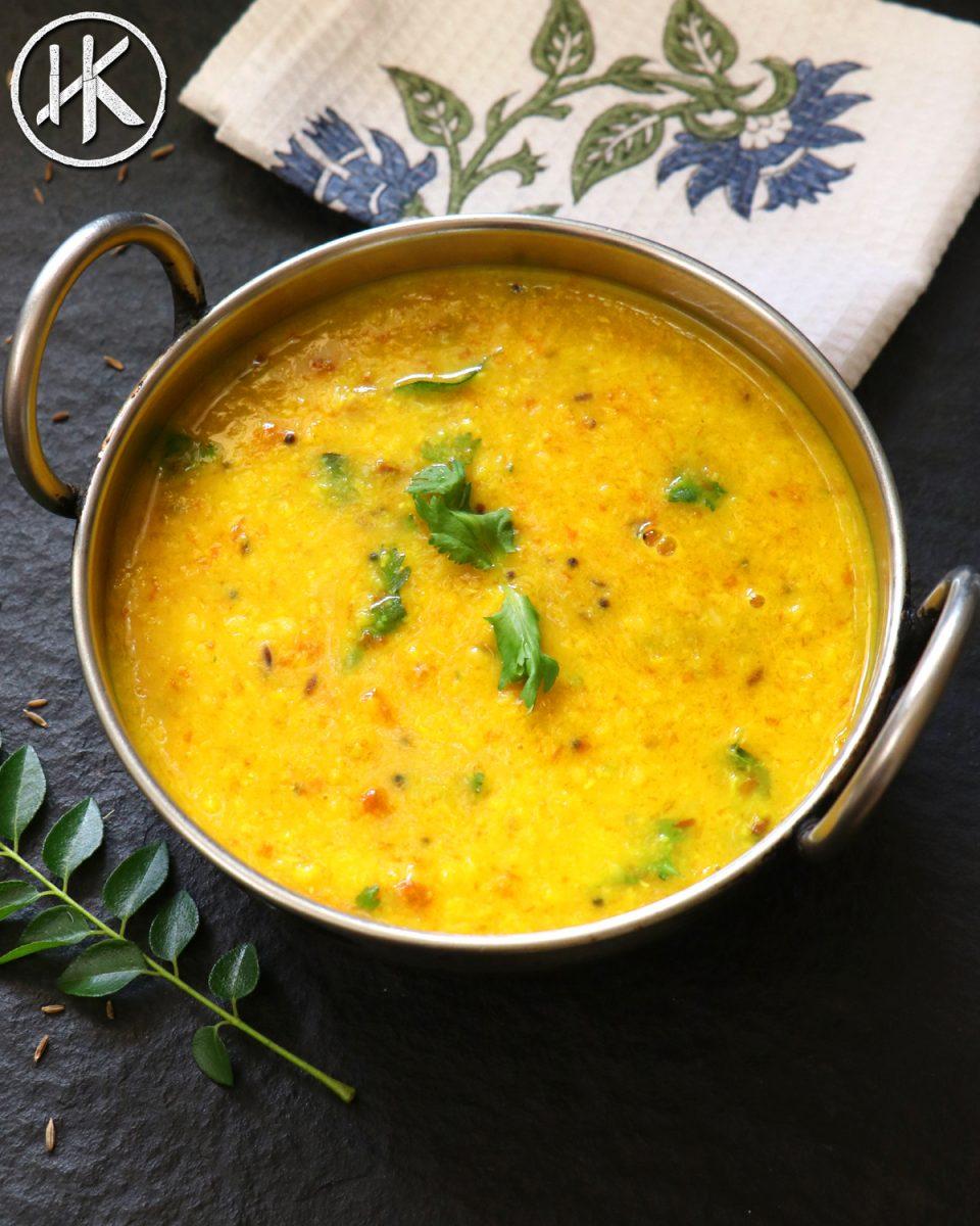 Yellow Dal Tadka - Headbanger's Kitchen - Keto All The Way!
