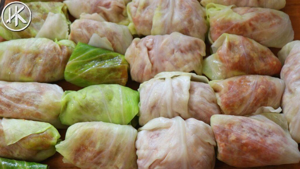 Hungarian Stuffed Cabbage Rolls