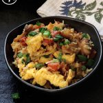 Keto Bacon and Egg Fried Rice
