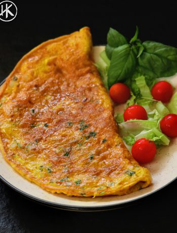 Keto omelet indian masala omelet