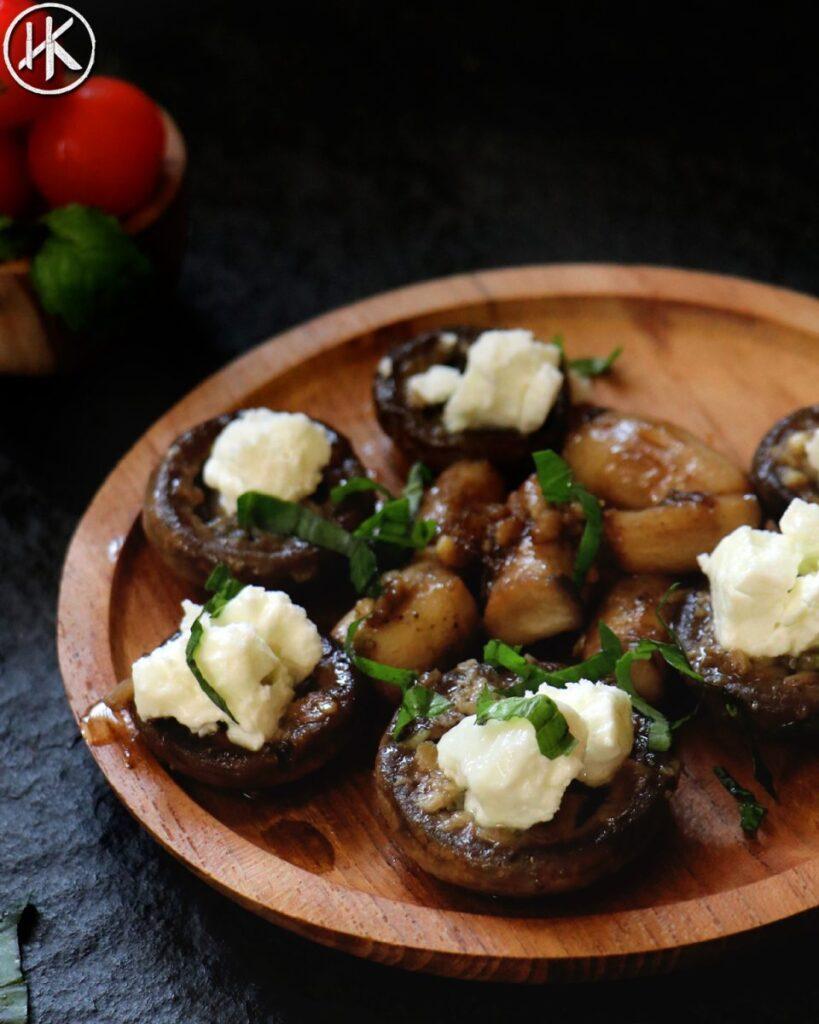 keto stuffed mushroom recipe