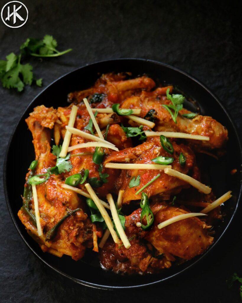 Keto Chicken Karahi