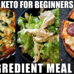5 Ingredient Keto Meal Plan