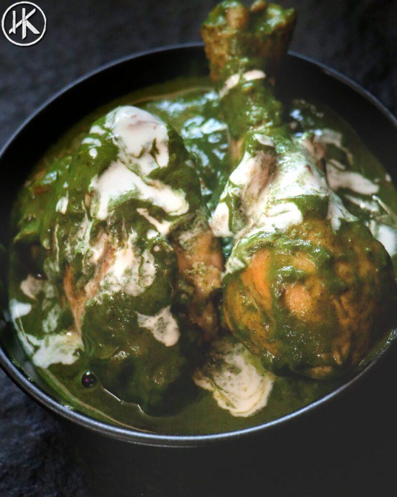 Keto Saag Chicken