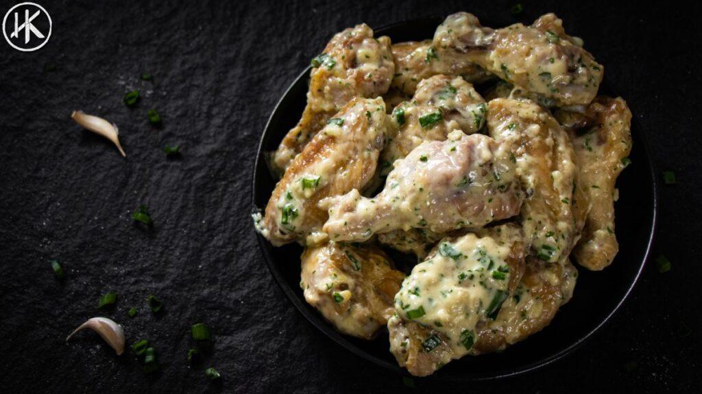 Alfredo Chicken Wings