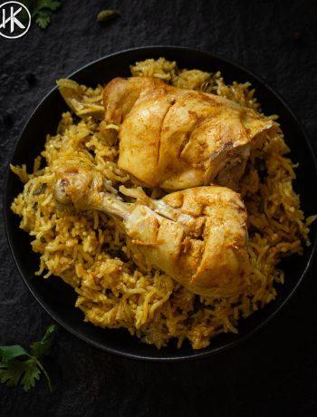 Healthy Chicken Biryani