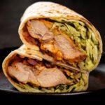 Tandoori Chicken Wrap