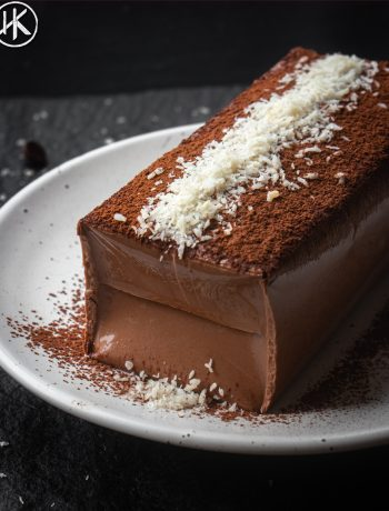 a Keto chocolate pudding