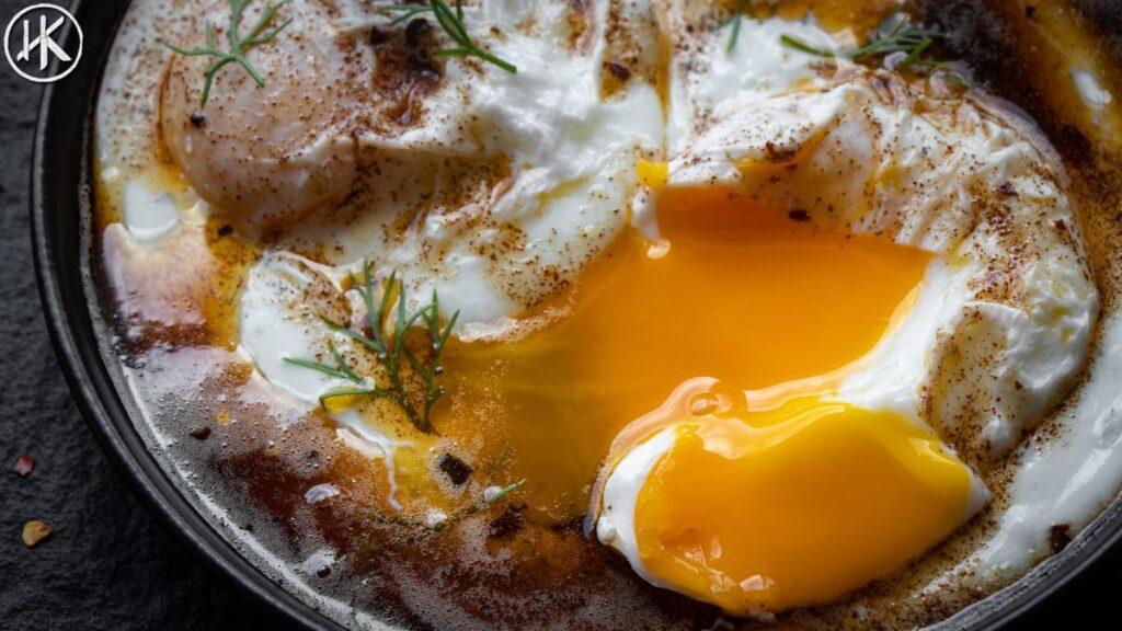 cilbir the turkish eggs in yogurt