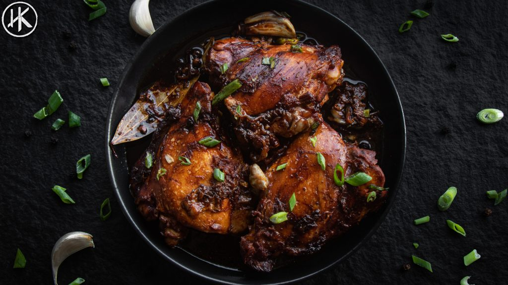 to show you chicken adobo